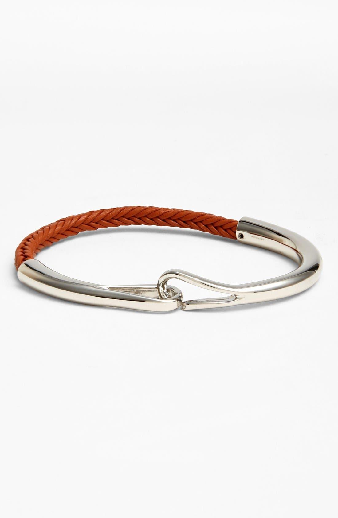 Alternate Image 1 Selected - Salvatore Ferragamo Leather Bracelet