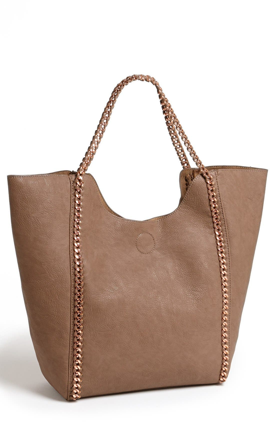 Alternate Image 1 Selected - Street Level Faux Leather Tote