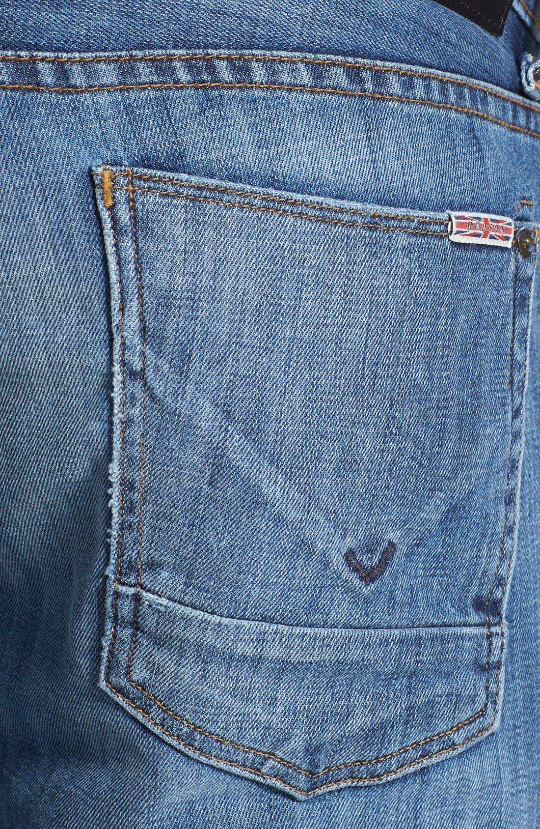 Alternate Image 4  - Hudson Jeans 'Byron' Straight Leg Jeans (Highway)