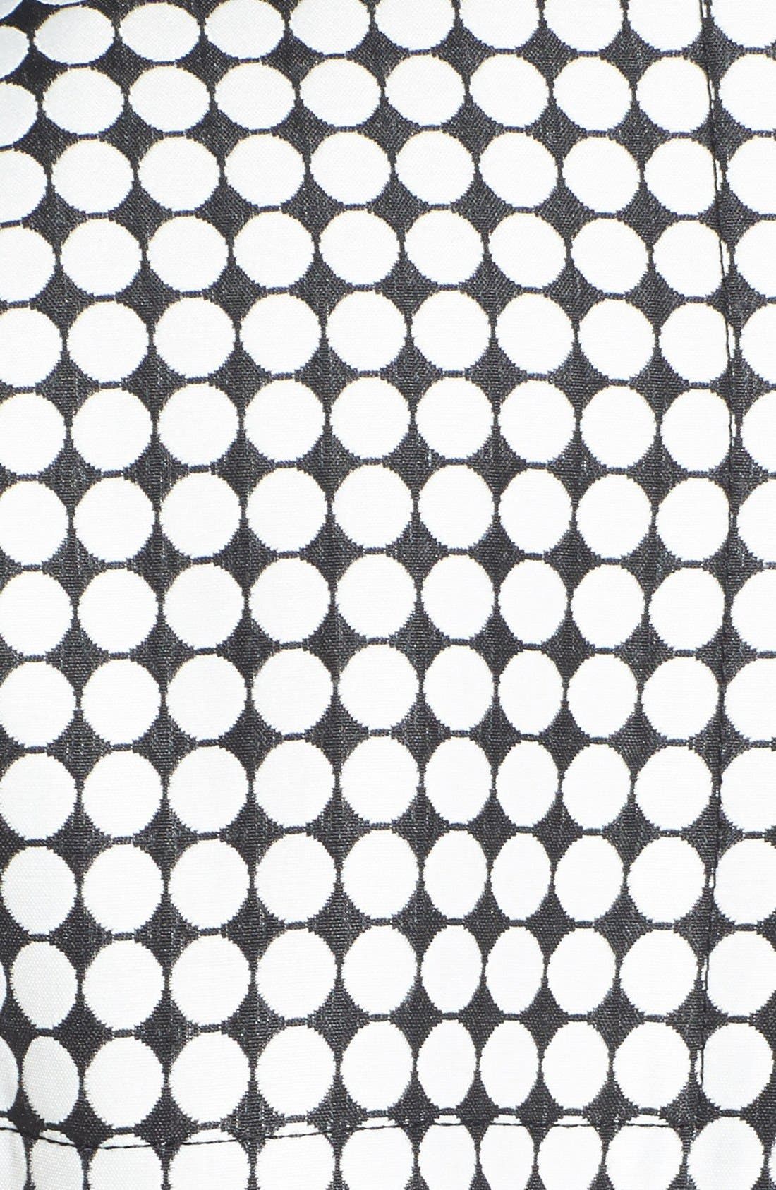 Alternate Image 3  - Kenneth Cole New York Dot Print Asymmetric Trench Coat