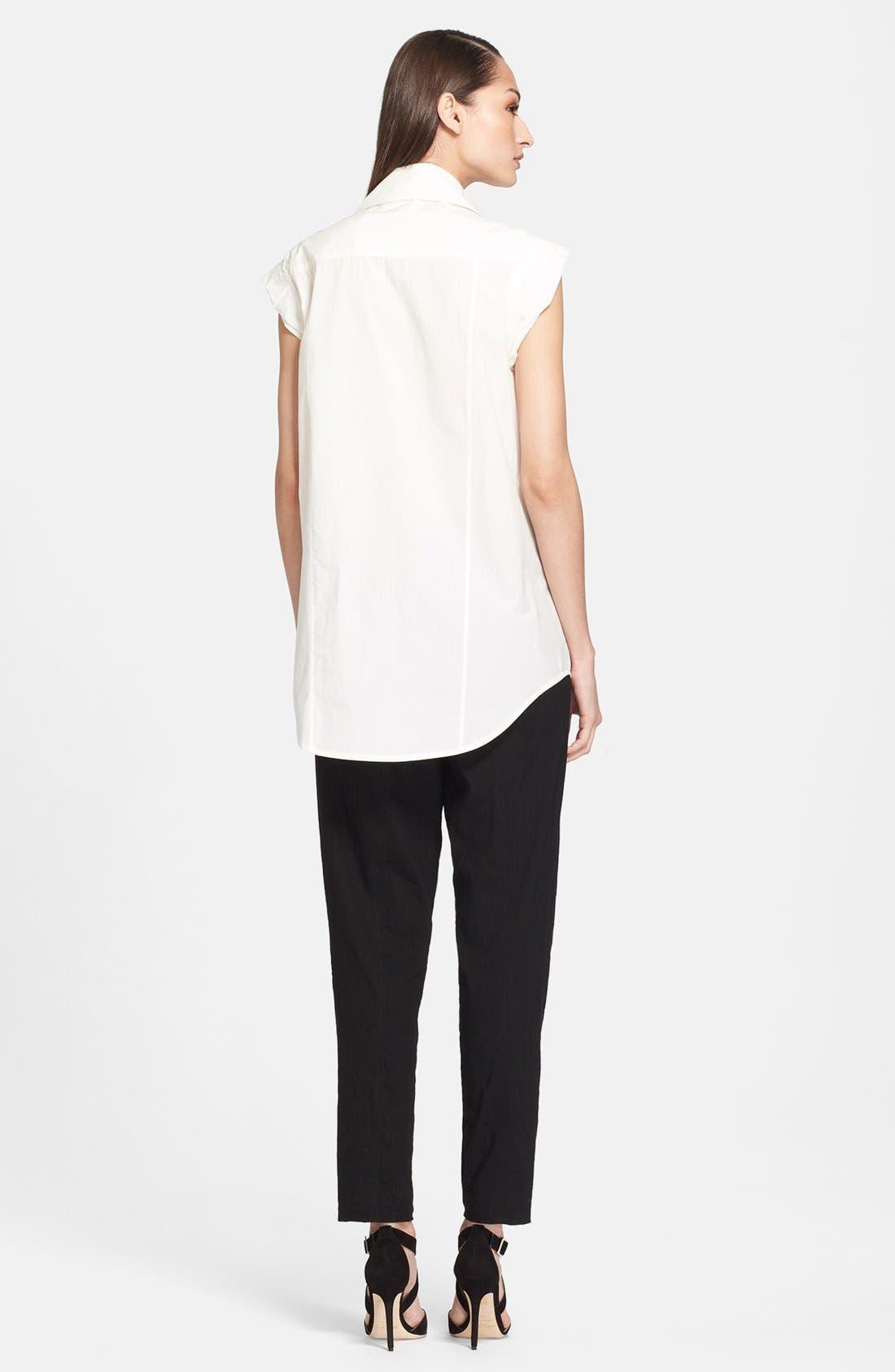 Alternate Image 2  - Donna Karan Collection Cotton Blouse