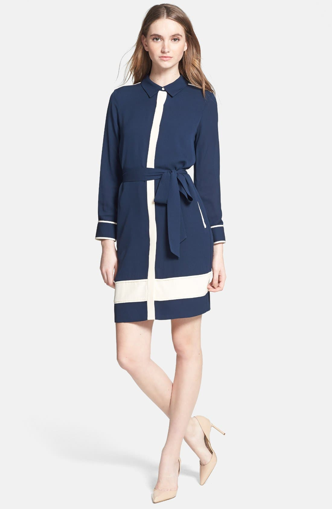 Alternate Image 2  - Diane von Furstenberg 'Cadence' Silk Shirtdress