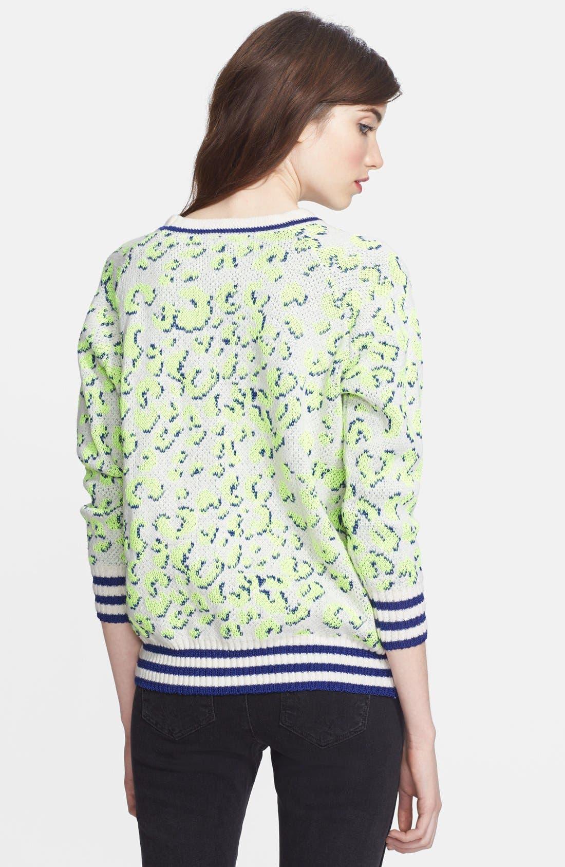 Alternate Image 2  - Mcginn 'Taylor' Leopard Sweater