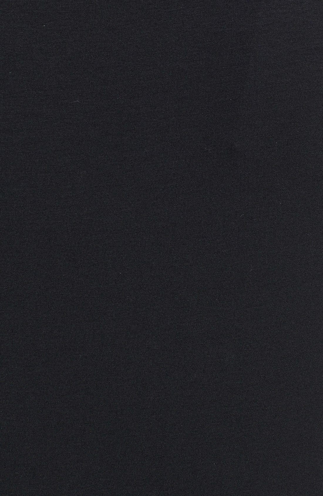 Alternate Image 3  - Eileen Fisher Scoop Neck Jersey Dress (Petite)
