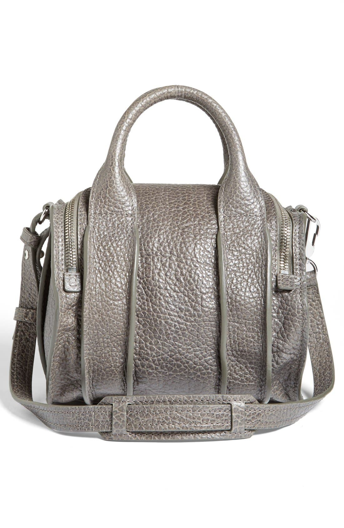 Alternate Image 3  - Alexander Wang 'Rockie - Inside Out' Leather Crossbody Satchel