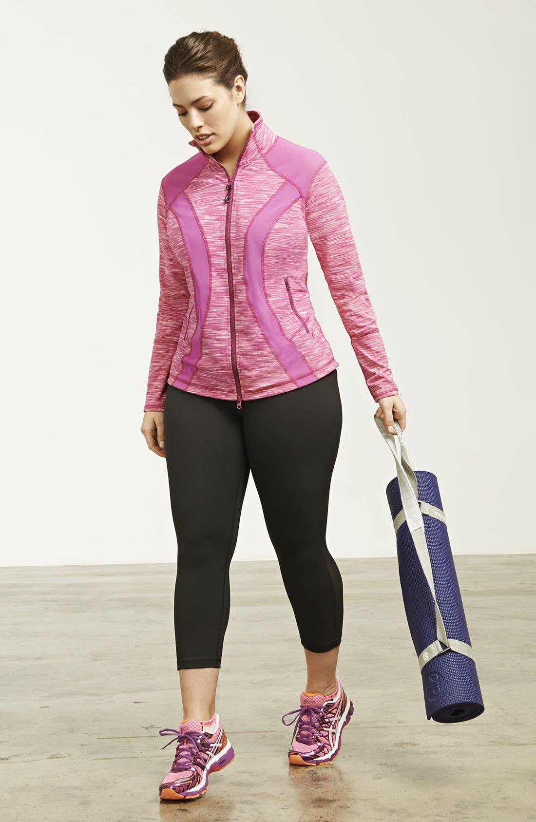 Alternate Image 1 Selected - Zella Jacket & Capri Leggings