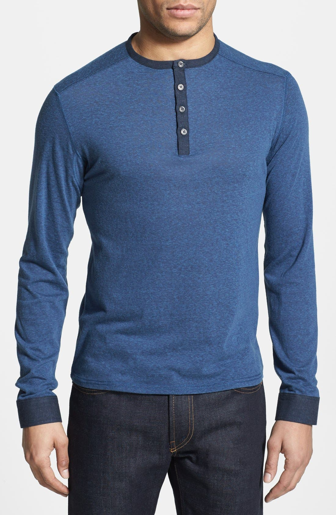 Alternate Image 1 Selected - Vince Camuto Slim Fit Knit Henley