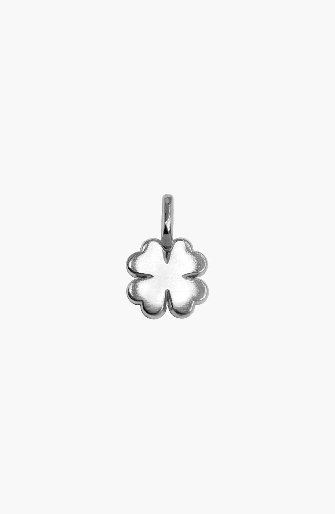 Alternate Image 1 Selected - Alex Woo 'Mini Addition' Clover Pendant