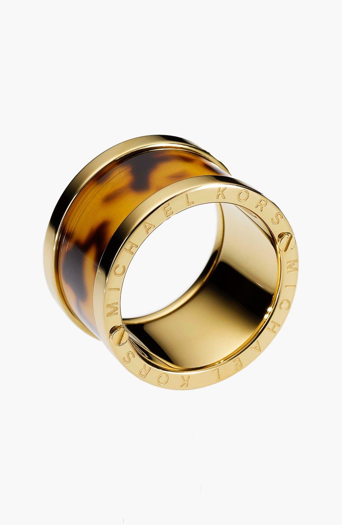 Alternate Image 2  - Michael Kors 'Sleek Exotics' Barrel Ring