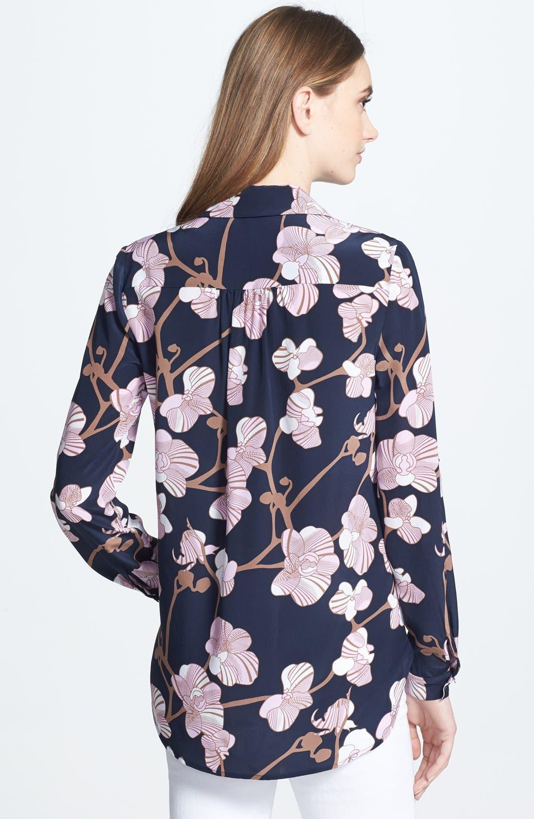 Alternate Image 2  - Diane von Furstenberg 'Lorelei 2' Print Silk Shirt