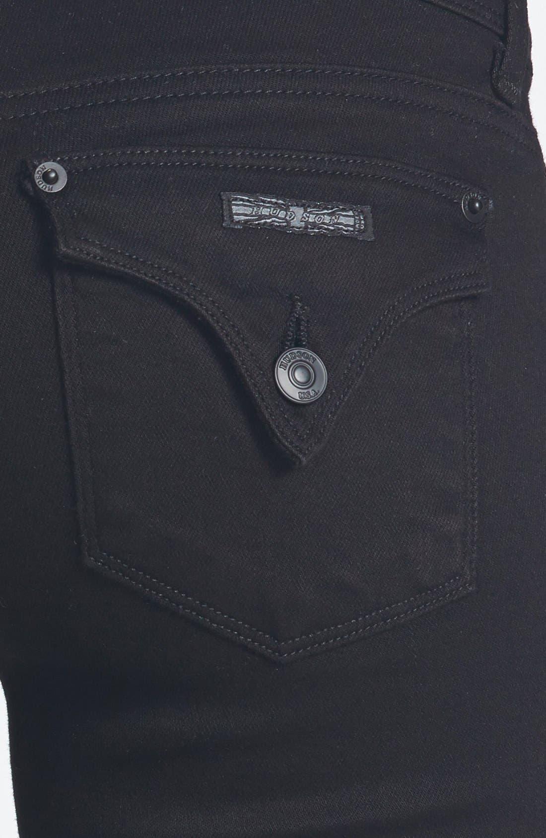 Alternate Image 3  - Hudson Jeans 'Ginny' Crop Straight Leg Jeans