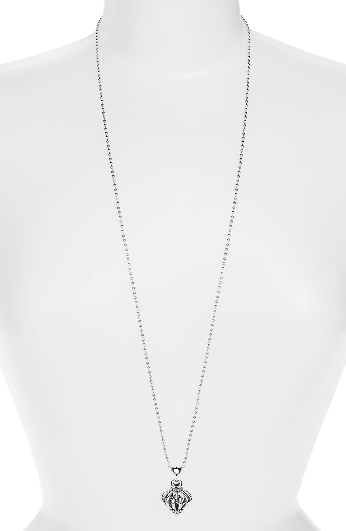 Alternate Image 2  - LAGOS Long Pendant Necklace