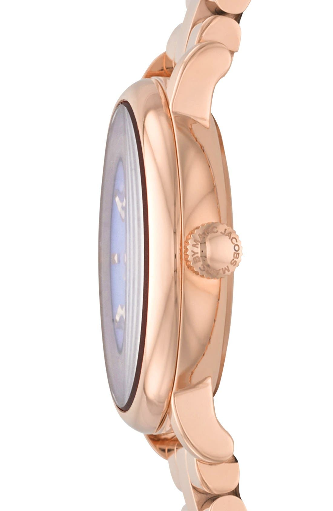 Alternate Image 3  - MARC JACOBS 'Small Baker' Bracelet Watch, 28mm