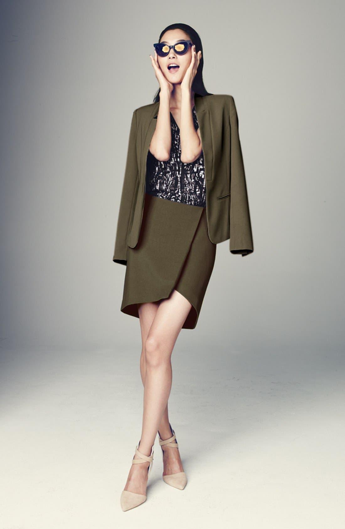 Alternate Image 5  - Trouvé Asymmetrical Miniskirt