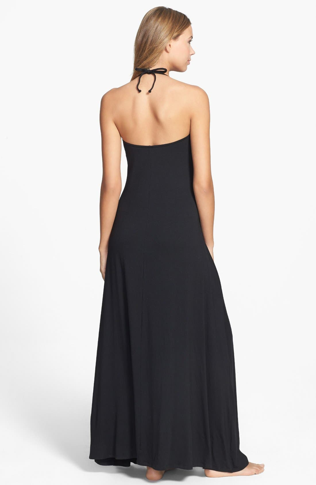 Alternate Image 2  - Robin Piccone 'Karina' Pleat Cover-Up Maxi Dress