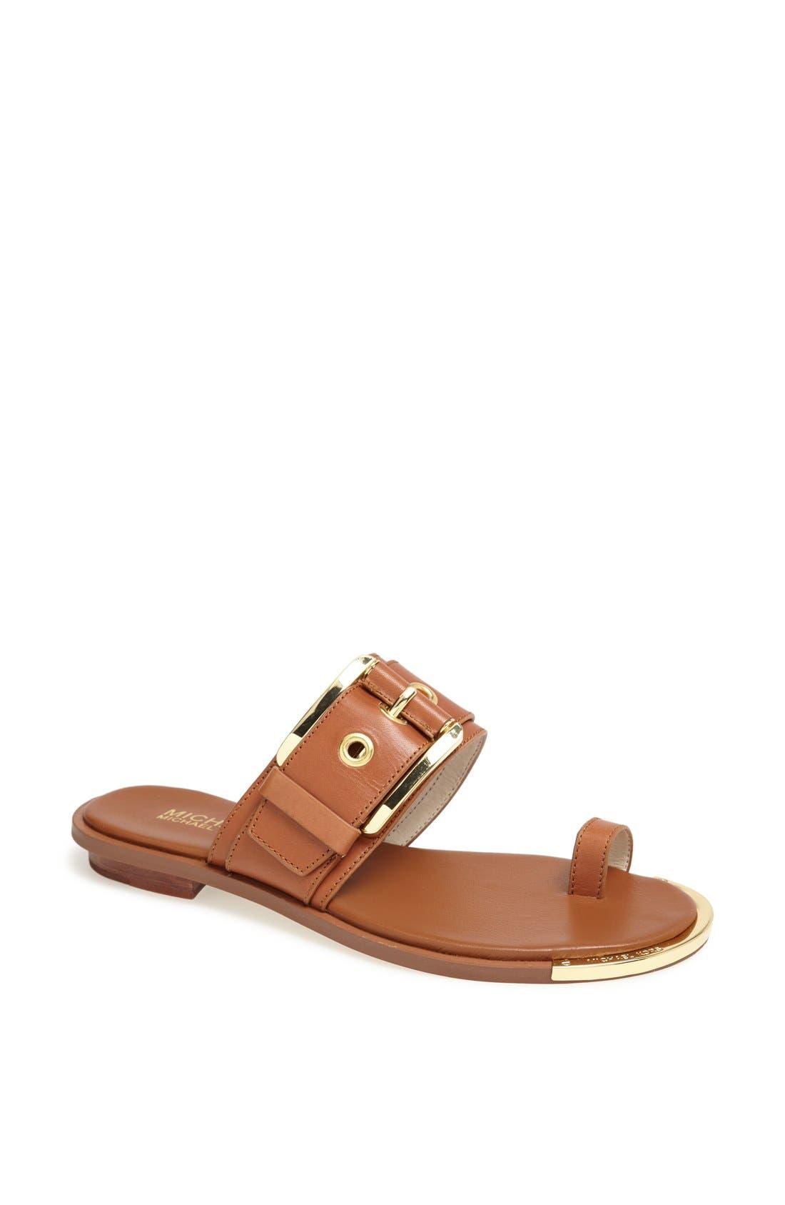 Main Image - MICHAEL Michael Kors 'Calder' Toe Loop Sandal