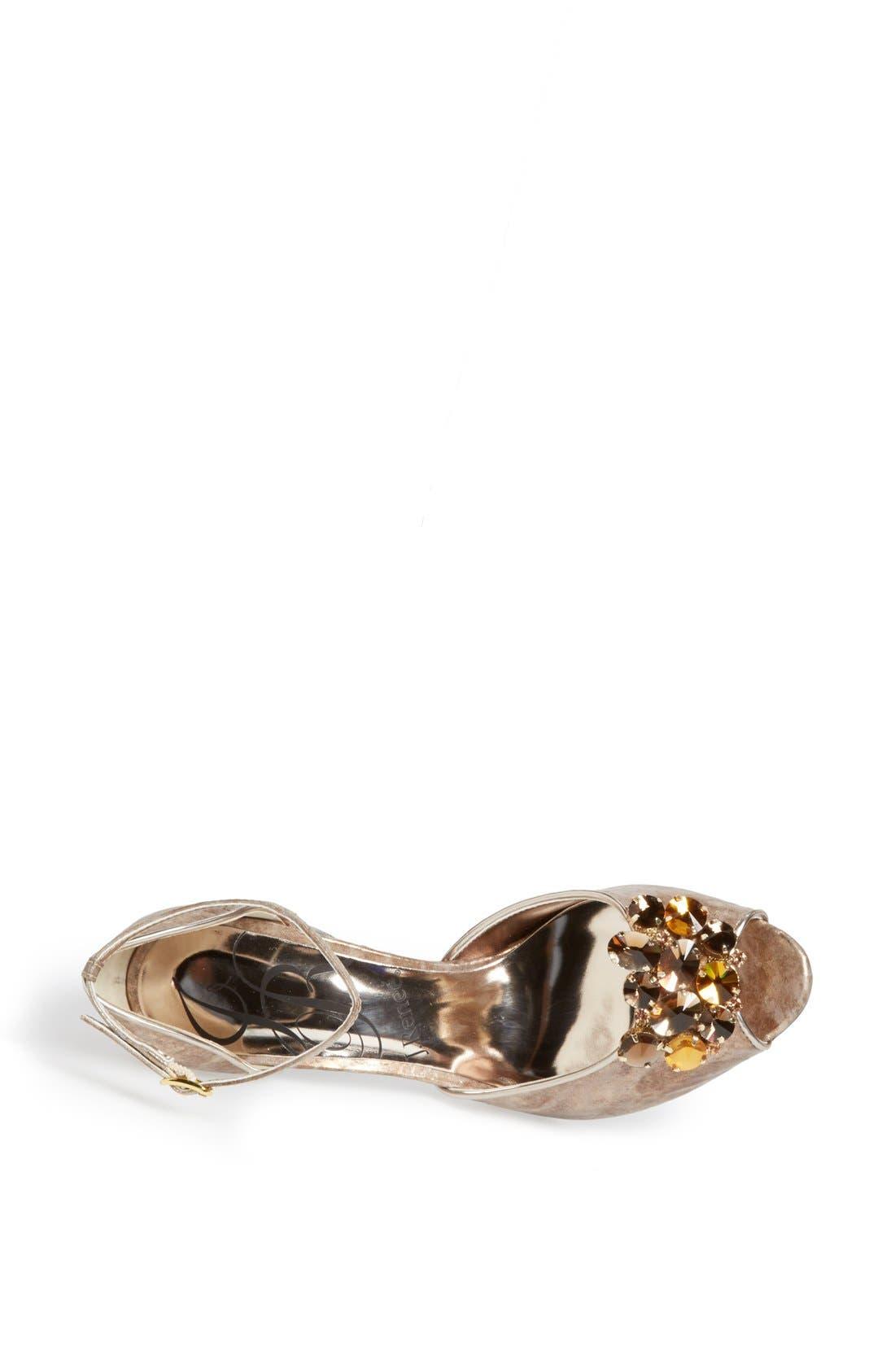 Alternate Image 3  - J. Reneé 'Deneen' Embellished Ankle Strap Sandal
