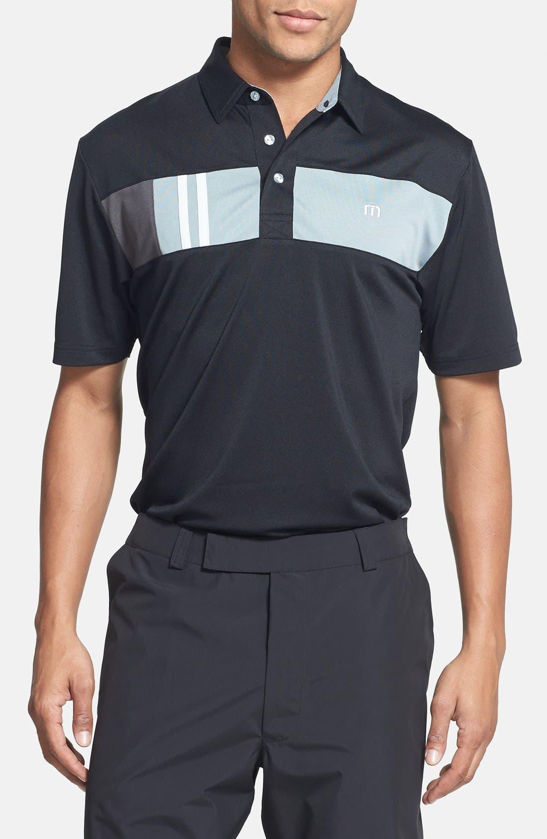 Main Image - Travis Mathew 'Kloss' Trim Fit Golf Polo