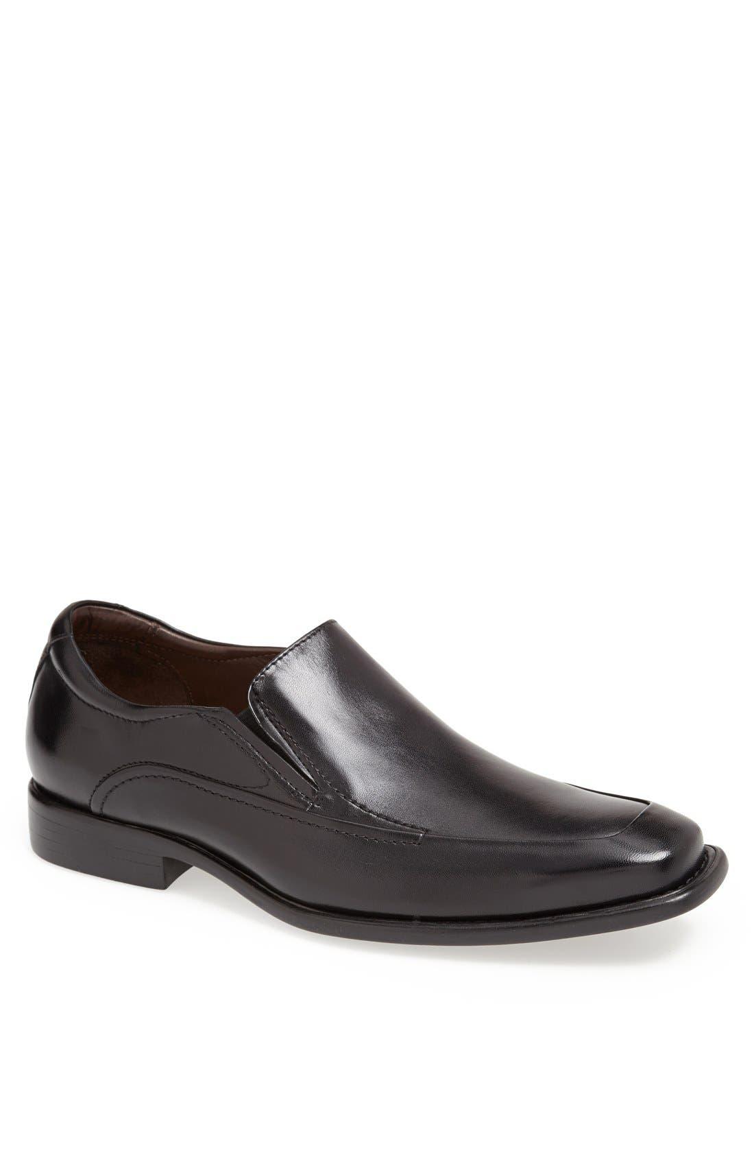 'Tilden' Venetian Slip-On,                         Main,                         color, Black