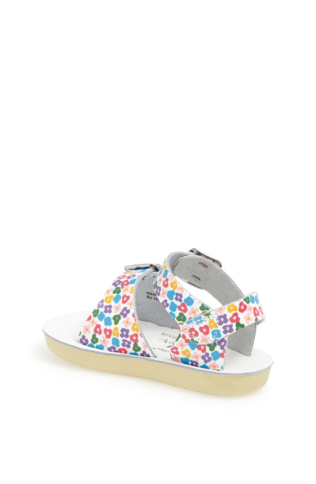 Hoy Shoe Salt-Water<sup>®</sup> Sandals 'Surfer' Sandal,                             Alternate thumbnail 2, color,                             Floral