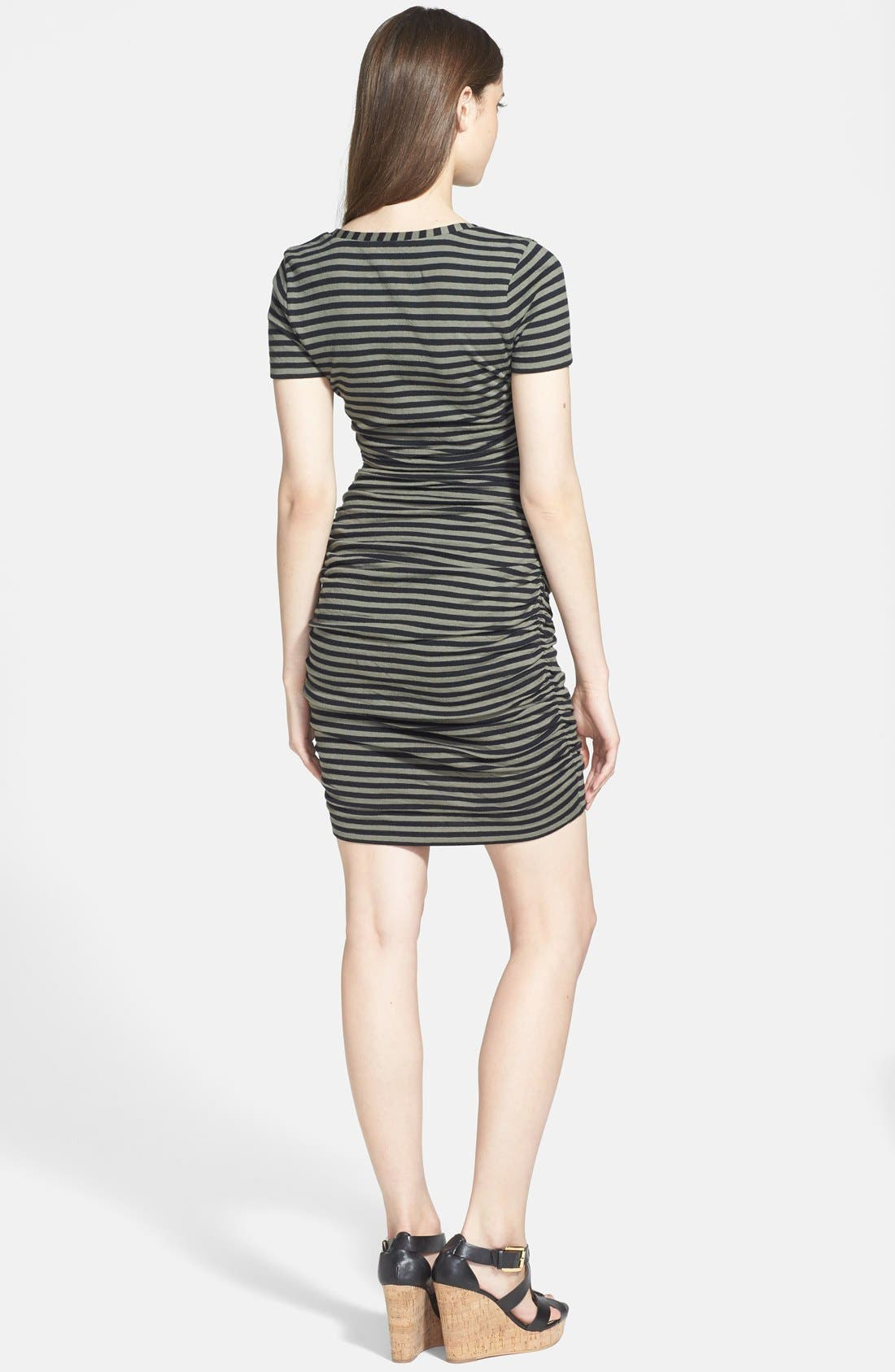 Alternate Image 2  - Caslon® Ruched Knit Dress