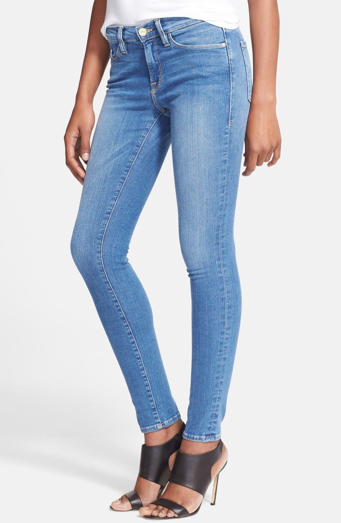 Main Image - Frame Denim 'Le Skinny de Jeanne' Jeans (Abbot Kinney)
