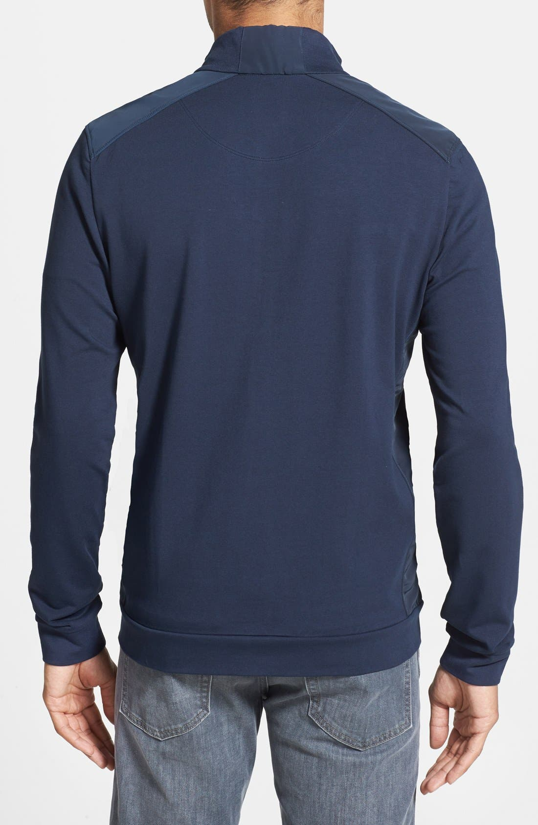 Alternate Image 2  - BOSS HUGO BOSS 'Cannobio 63' Front Zip Sweater