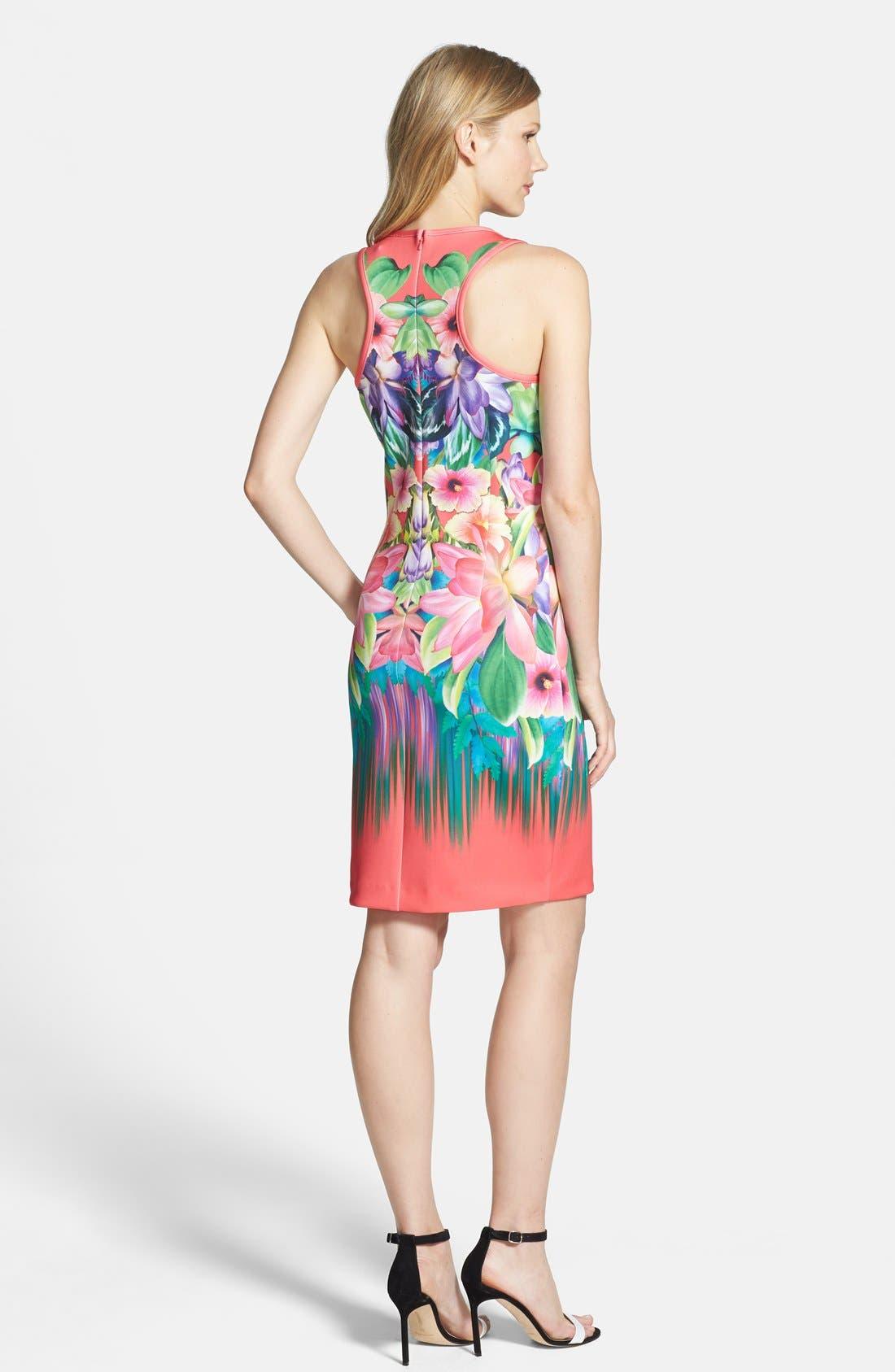 Alternate Image 2  - Laundry by Shelli Segal Print Neoprene Sheath Dress