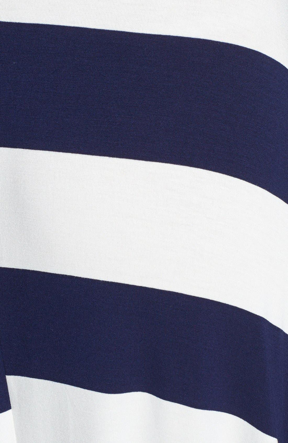 Alternate Image 3  - Elan Stripe Convertible Bias Cut Cover-Up Maxi Dress