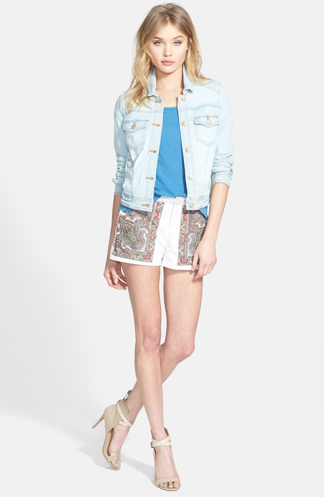 Alternate Image 4  - Hinge® Denim Jacket