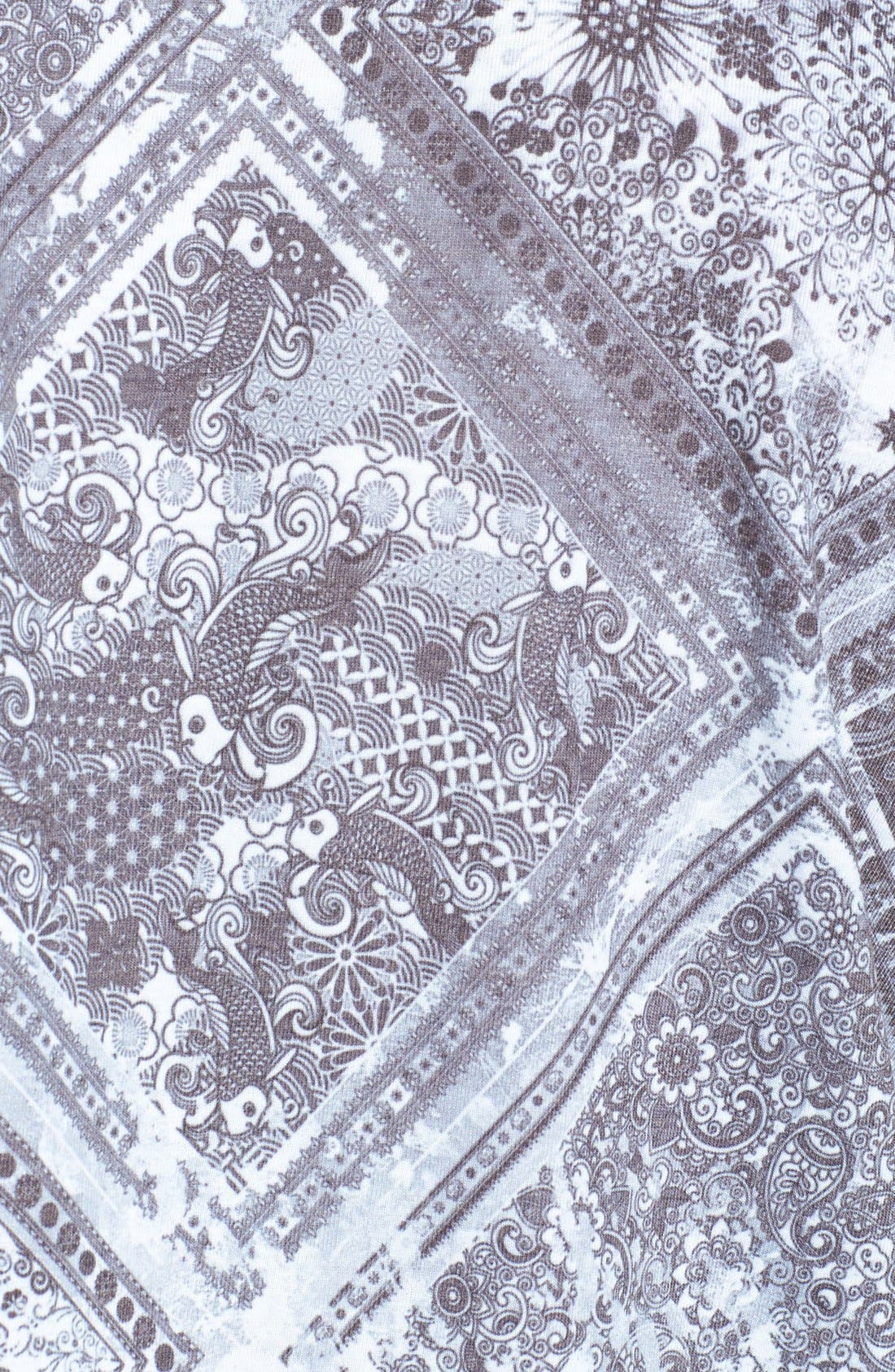 Alternate Image 3  - Topman Paisley Tile Print T-Shirt