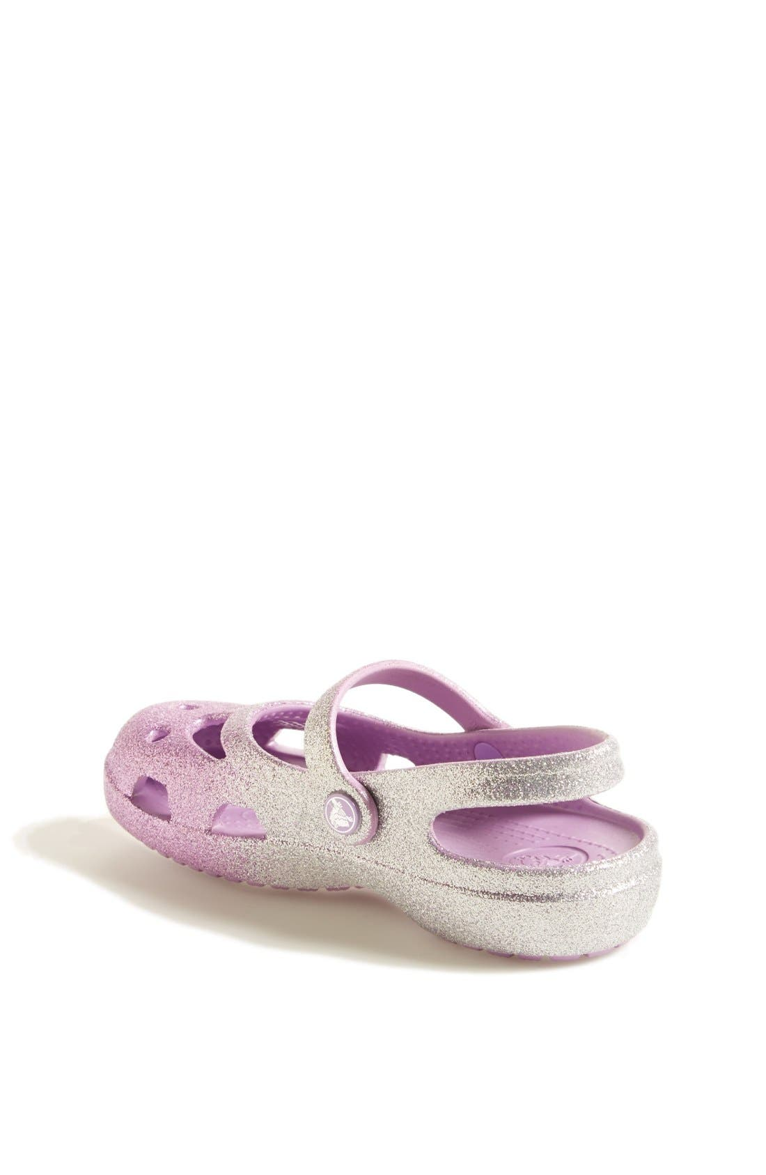 Alternate Image 2  - CROCS™ 'Shayna' Sandal (Baby, Walker, Toddler & Little Kid)