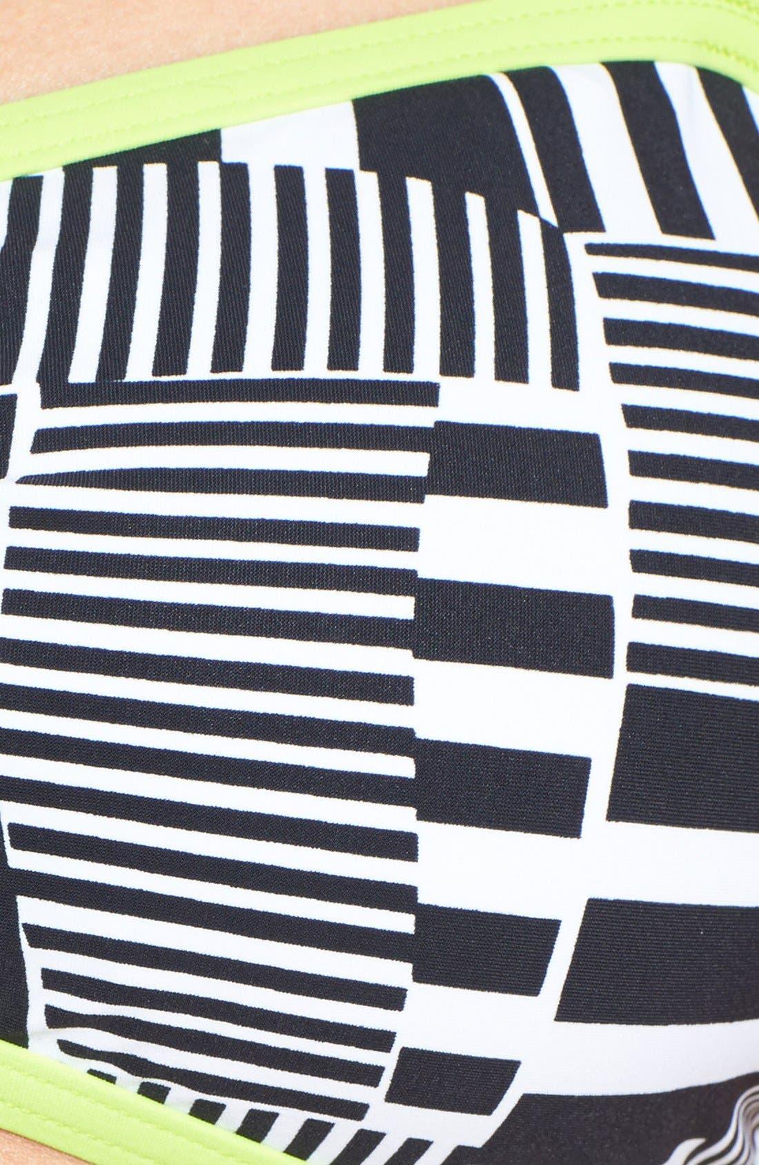 Alternate Image 5  - adidas 'Cut Stripe' Bandeau Bikini Top