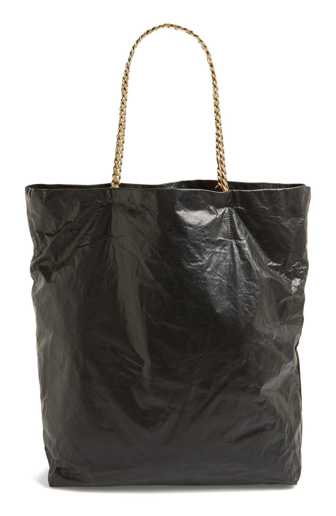 Alternate Image 4  - Lanvin 'Paper Bag' Laminated Lambskin Tote