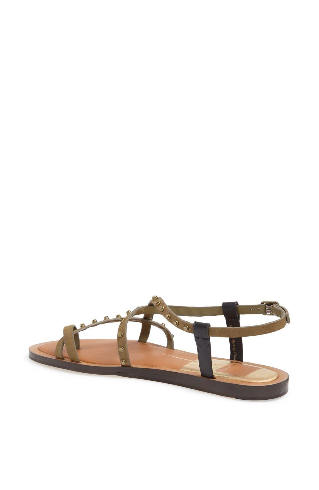 Alternate Image 2  - Dolce Vita 'Flame' Studded Leather Sandal