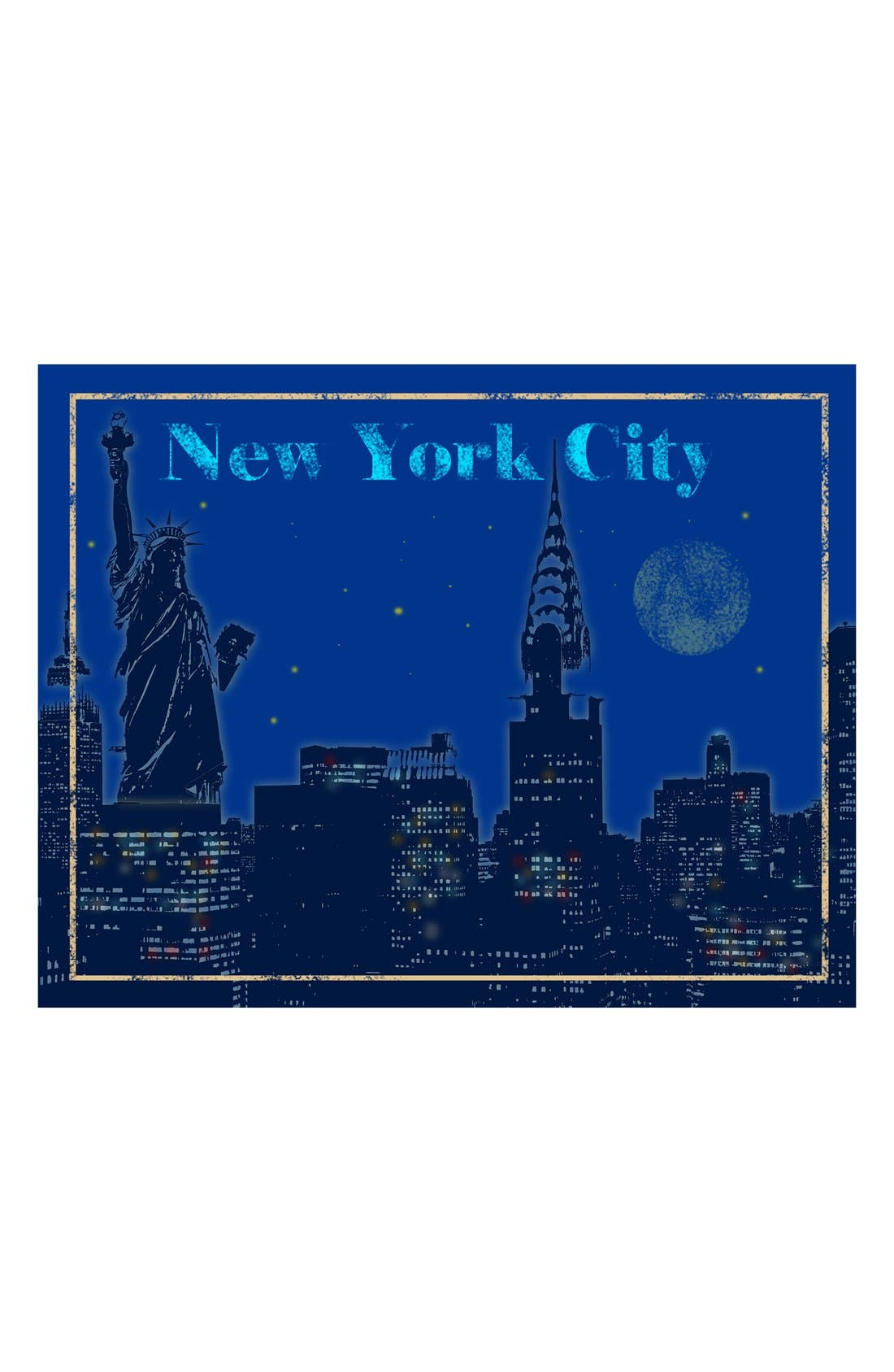 Main Image - Green Leaf Art 'New York City' Wall Art
