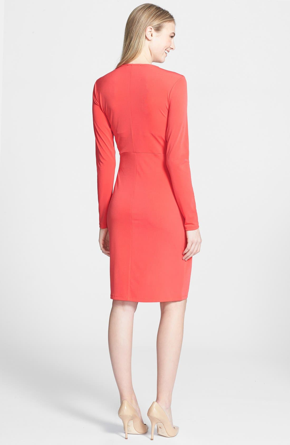 Alternate Image 2  - MICHAEL Michael Kors Faux Wrap Dress