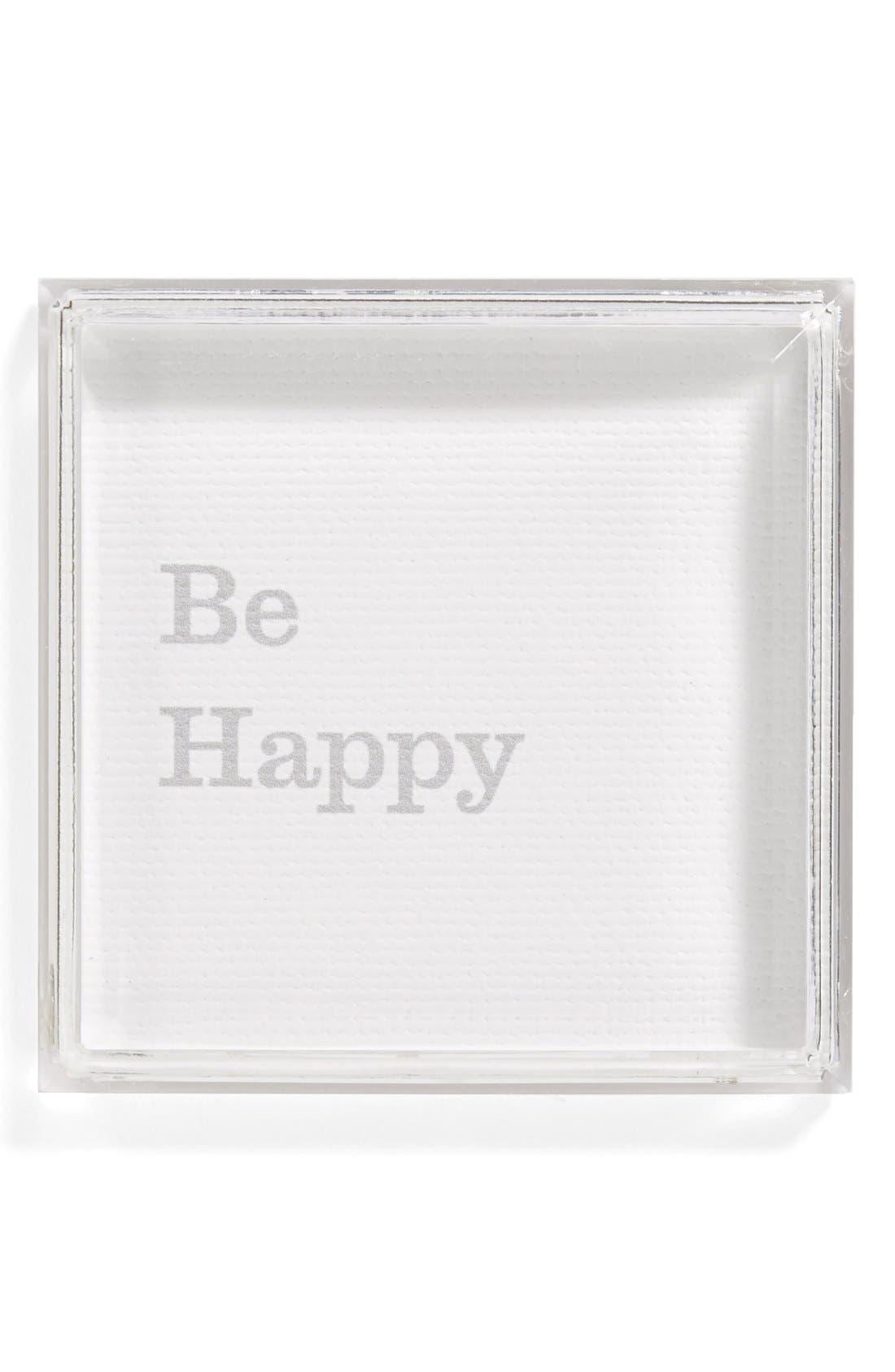 Alternate Image 1 Selected - Petal Lane 'Be Happy' Magnet