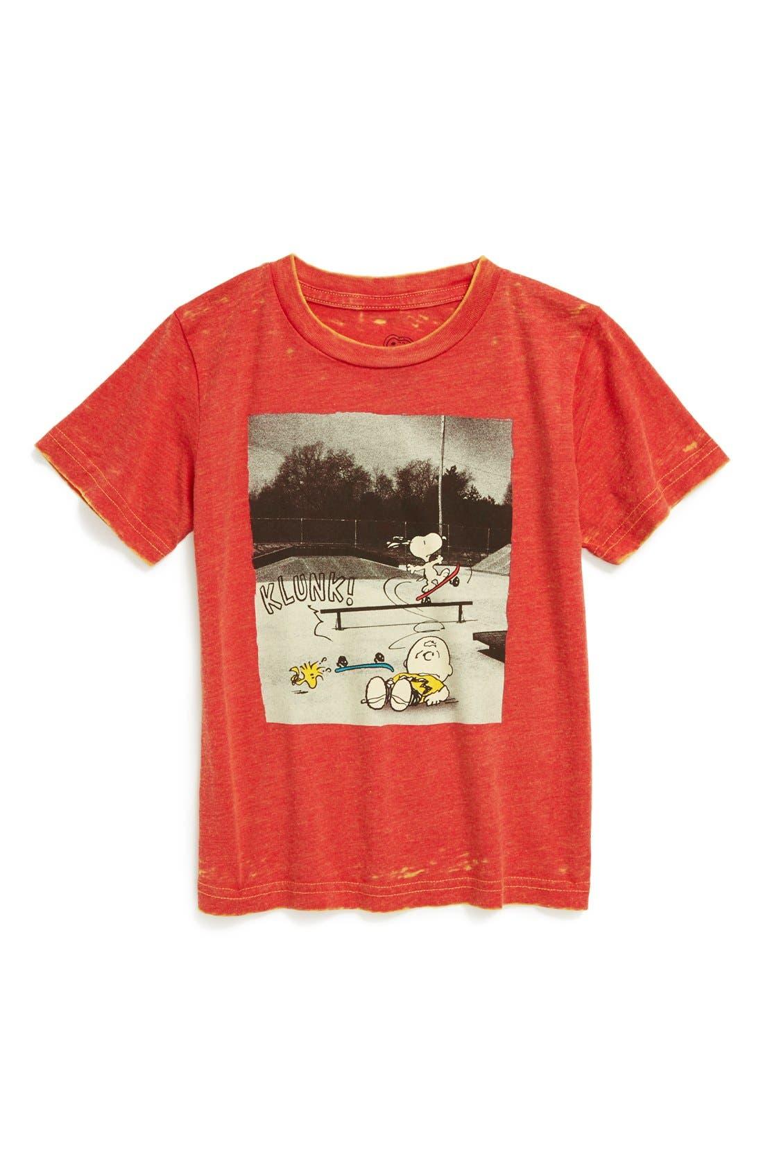 Alternate Image 1 Selected - Jem 'Charlie Brown™' Graphic T-Shirt (Toddler Boys)
