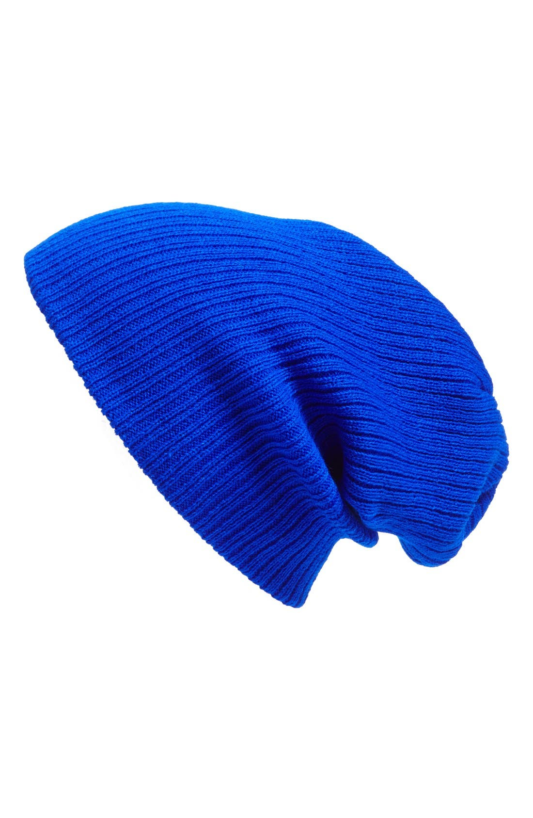 Alternate Image 1 Selected - Leith Slouchy Ribbed Beanie