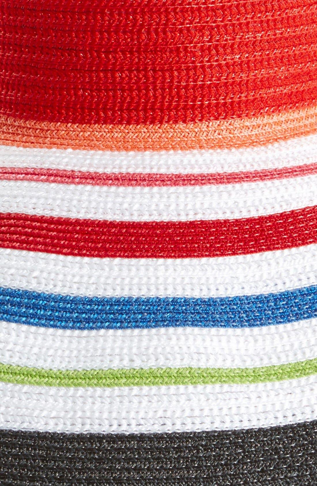 Alternate Image 2  - Laundry by Shelli Segal 'Chloe' Floppy Hat