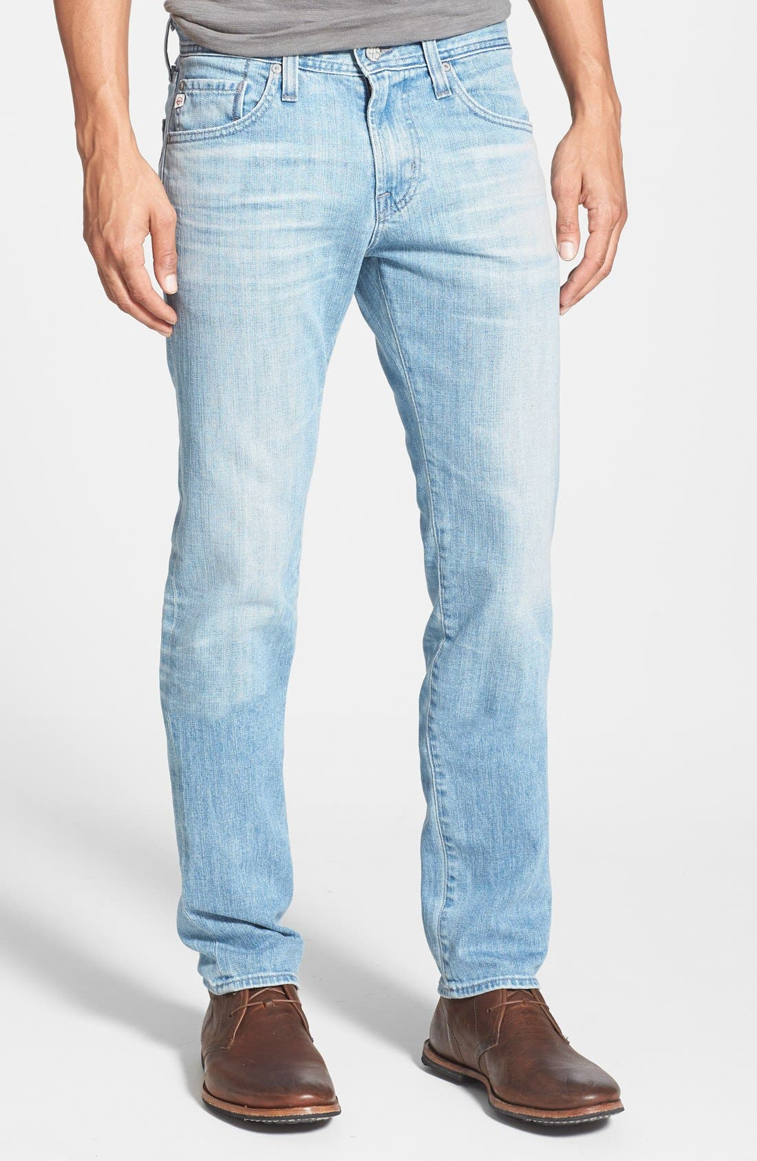 Main Image - AG 'Dylan' Slim Skinny Leg Jeans (23 Year Ariel)