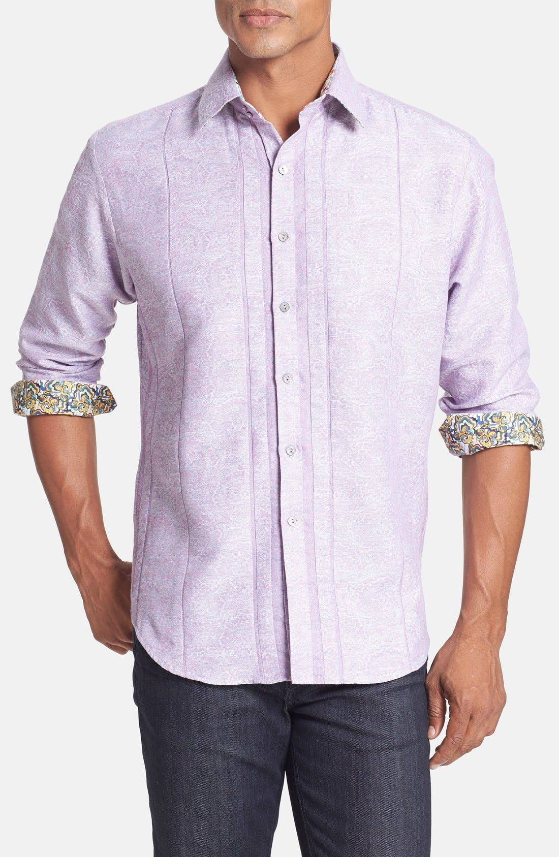 Alternate Image 1 Selected - Robert Graham 'Pequod' Classic Fit Sport Shirt