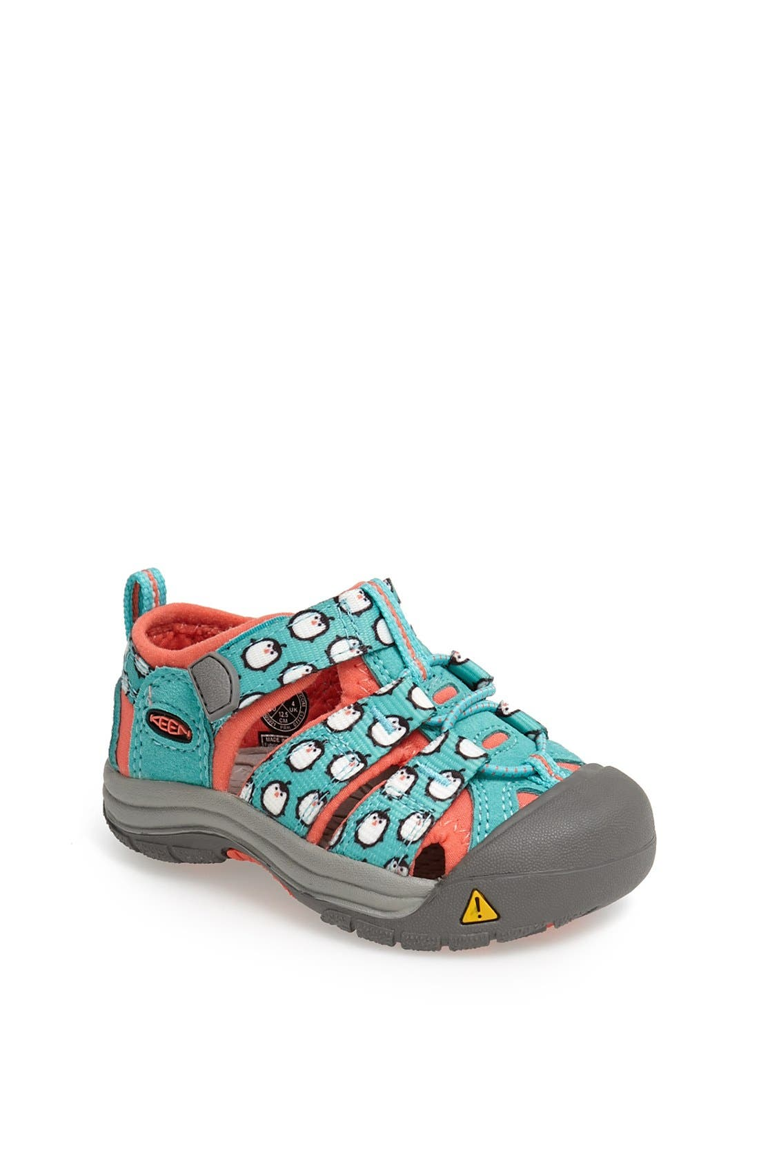 Alternate Image 1 Selected - Keen Newport H2' Print Sandal (Baby & Walker)
