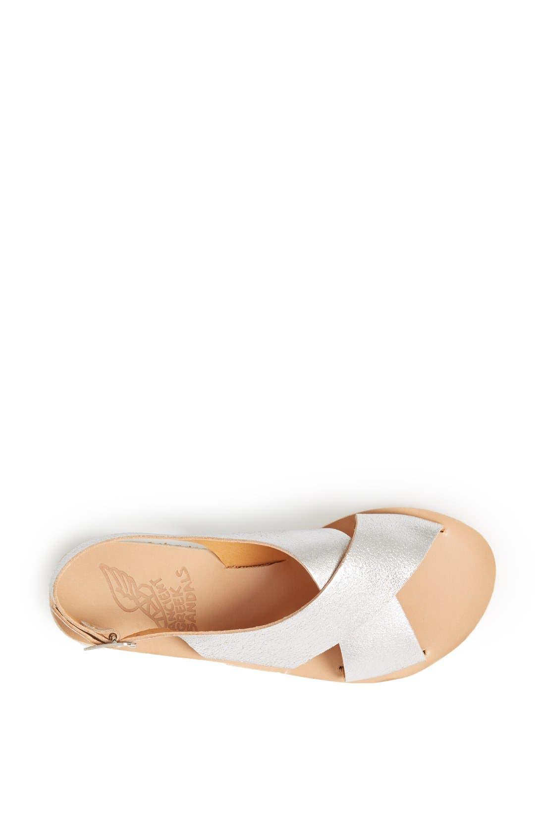 Alternate Image 4  - Ancient Greek Sandals 'Maria' Leather Slingback Sandal