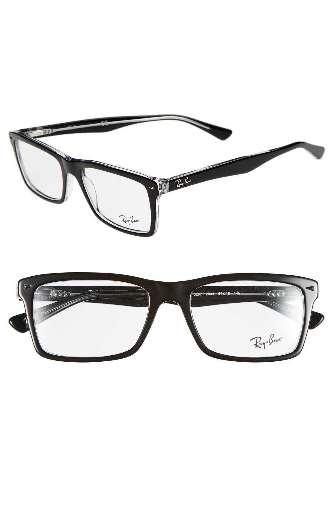 Main Image - Ray-Ban 54mm Optical Glasses (Online Only)