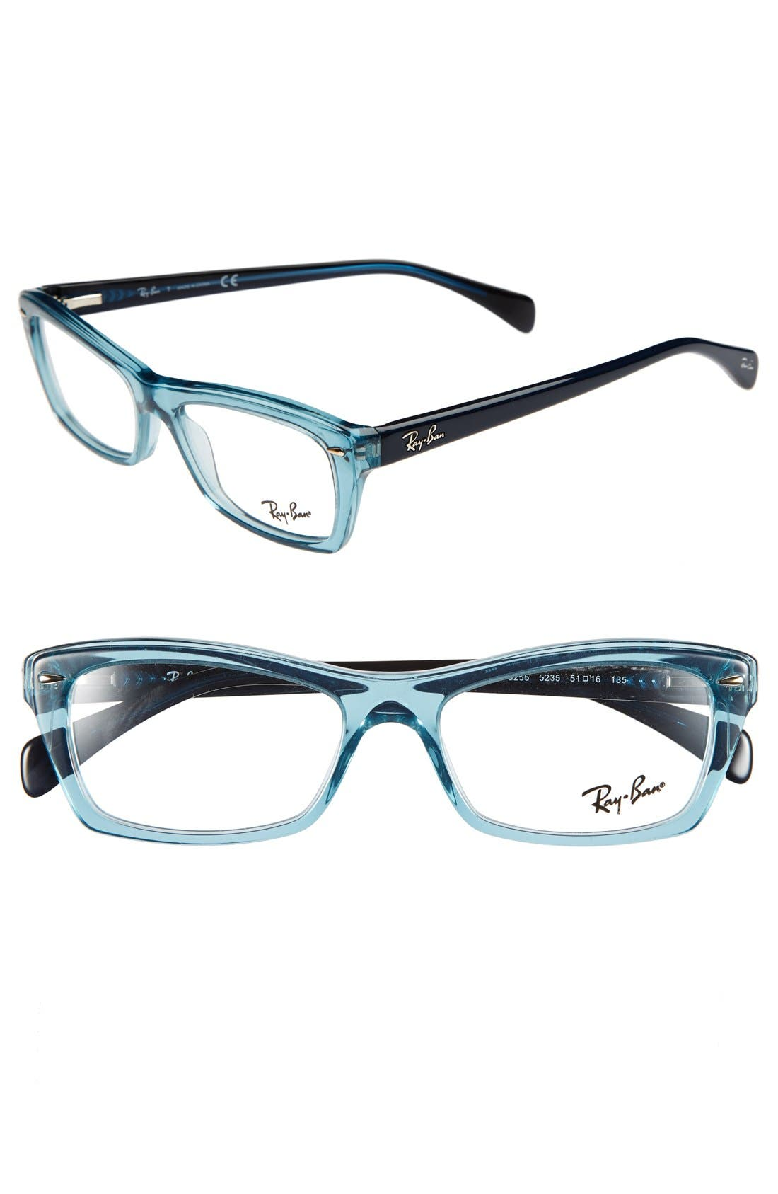 Main Image - Ray-Ban 51mm Optical Glasses (Online Only)