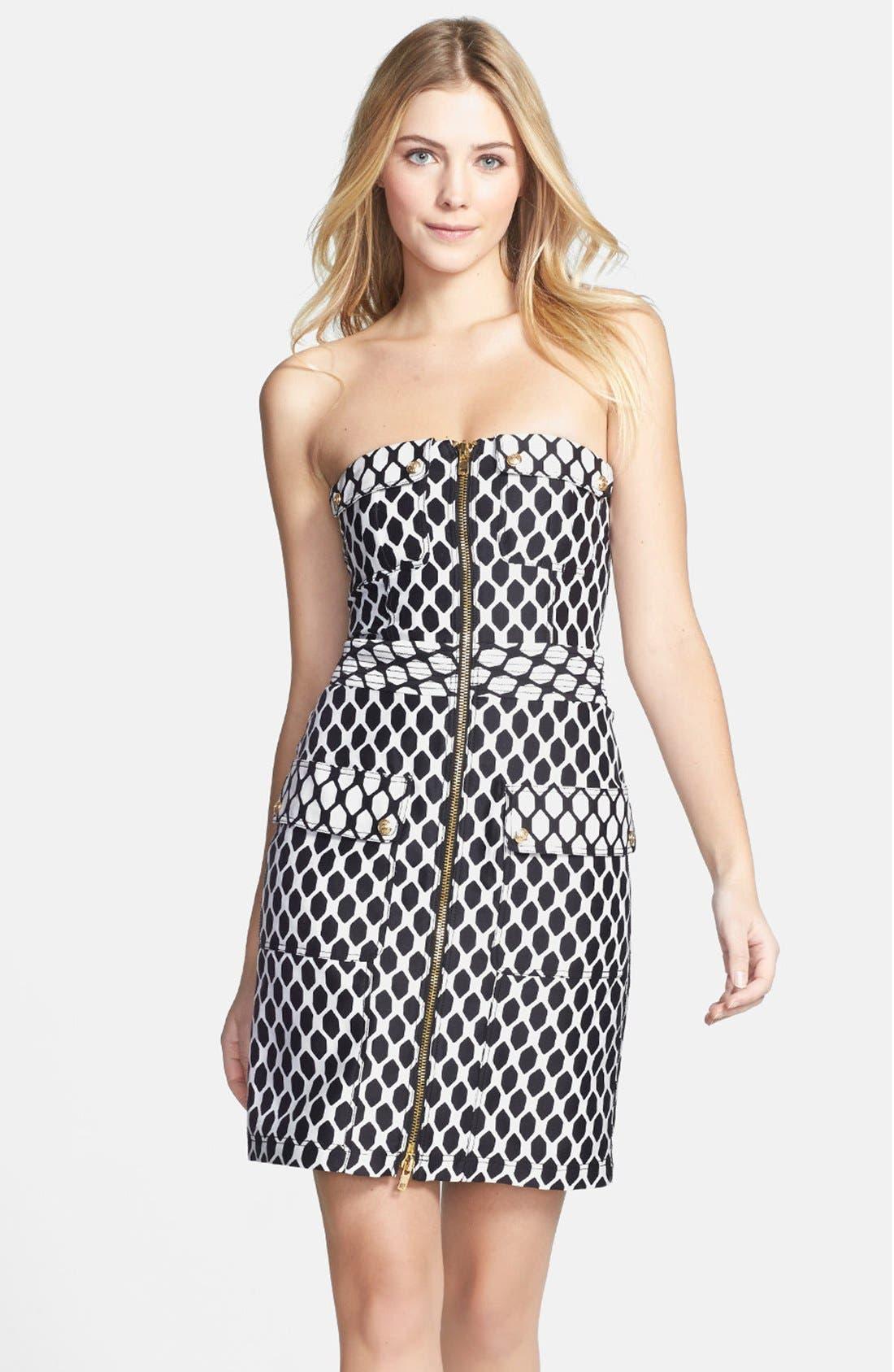 Alternate Image 3  - Diane von Furstenberg 'Adida' Wool & Silk Sheath Dress