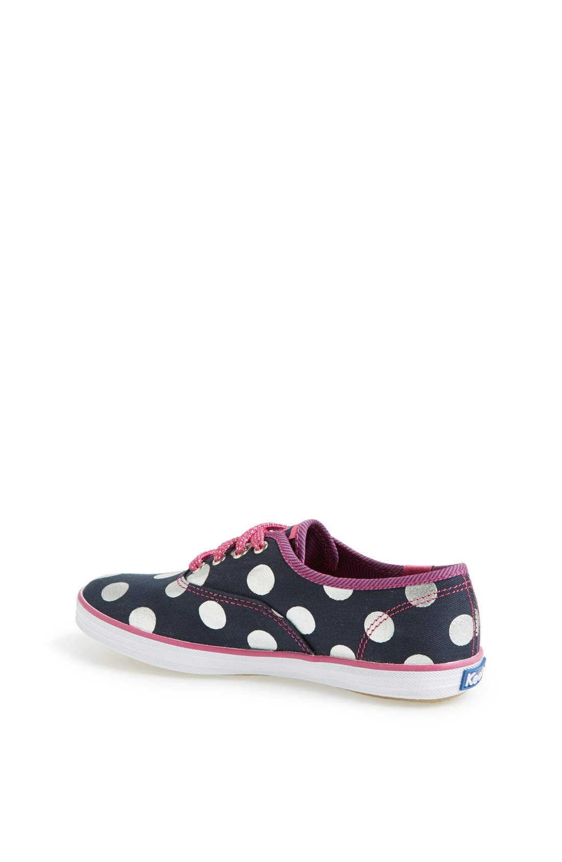 Alternate Image 2  - Keds® 'Champion' Polka Dot Sneaker (Walker, Toddler, Little Kid & Big Kid)
