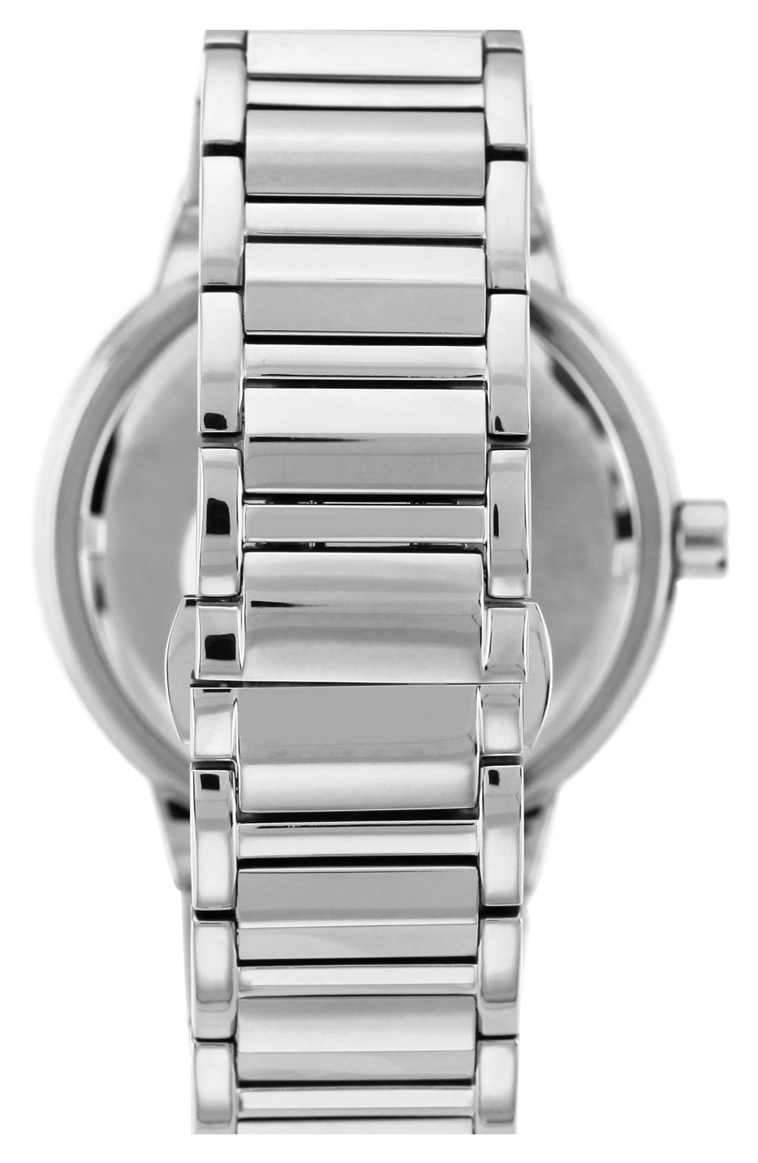 Alternate Image 2  - Vince Camuto Crystal Multifunction Bracelet Watch, 42mm